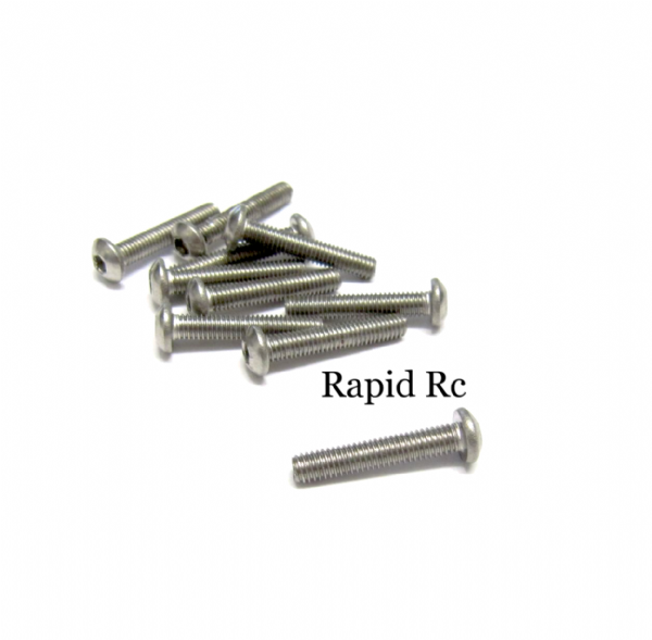 stainless Steel socket Button head Bolt A2 M3x20mm